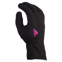 adidas Comfort Fleece 2 Run Gloves - Women's - Black / Pink