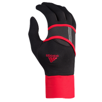 adidas Dash Lightweight Run Gloves - Women's - Black / Red