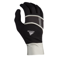 adidas Dash Lightweight Run Gloves - Women's - Black / Silver