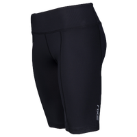2XU Mid Rise Compression Shorts - Women's - All Black / Black