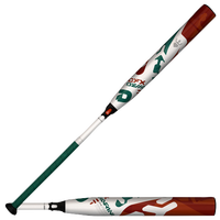 DeMarini CFX Fastpitch Bat - Women's - White / Dark Green