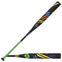 DeMarini Dinger Slinger Softball Bat USSSA - Men's - Black / Light Green