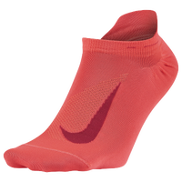 Nike Elite Run Lightweight No Show Tab - Pink / Pink