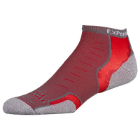 Thorlo Cushioned Heel Micro Mini Running Socks - Red / Grey