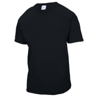 Gildan Team Ultra Cotton 6oz. T-Shirt - Boys' Grade School - All Black / Black