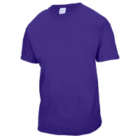 Gildan Team Ultra Cotton 6oz. T-Shirt - Boys' Grade School - Purple / Purple