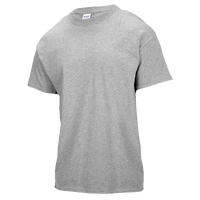 Gildan Team Ultra Cotton 6oz. T-Shirt - Boys' Grade School - Grey / Grey