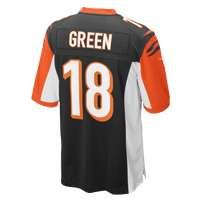 Nike NFL Team Color Game Day Jersey - Boys' Grade School - AJ Green - Cincinnati Bengals - Black / Orange