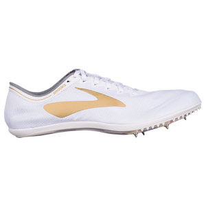 76d194fecab Brooks The Wire v5 - Men s - Track   Field - Shoes - White Gold