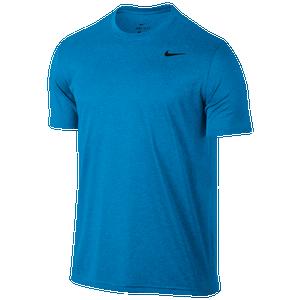 Nike Legend 2.0 Short Sleeve T-Shirt - Men's Training - Equator Blue/Blue Gale Heather/Black 18833482