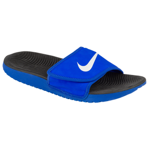 b95d301065ec9a Nike Kawa Adjust Slide - Boys  Grade School - Casual - Shoes - Racer ...