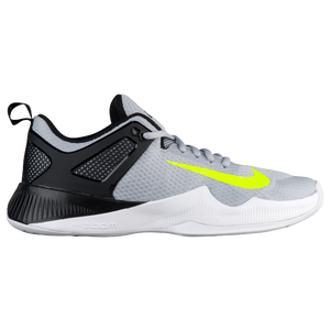Nike Air Zoom Hyperace - Women's - Volleyball - Shoes - Wolf Grey/Volt/Black