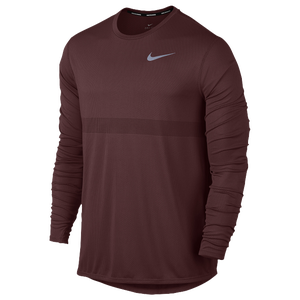 Nike Dri-FIT Zonal Cool Relay Long Sleeve Top - Men's Running - Dark Team Red 33585619