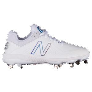 2762df8c5785 New Balance Fuse 1 Metal Low - Women's - Softball - Shoes - White/White