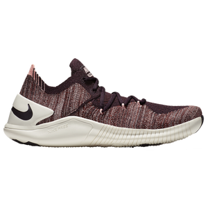 68254a4a6e82a Nike Free TR Flyknit 3 - Women s - Training - Shoes - Burgundy Ash Pueblo  Brown Sail Pink Tint