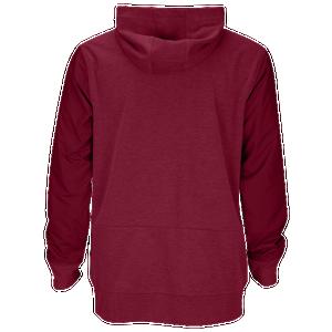 Nike Team Sideline Full-Zip Travel Hoodie - Men's Baseball - Team Maroon/White 46012692