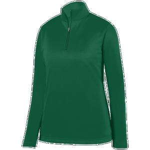 Augusta Sportswear Team Wicking Fleece Pullover - Women's Basketball - Dark Green 5509DG