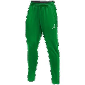 cf0b1474ae61af Jordan Team 360 Fleece Pants - Men s - Basketball - Clothing - Kelly  Green White