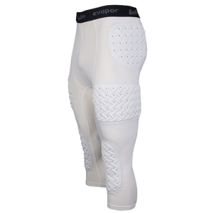 2752d0e77ea6e Eastbay Padded Compression 3/4 Tights - Men's - Basketball - Clothing -  White