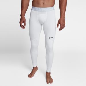 Nike Hyperwarm Tights - Men's Training - White/Wolf Grey/Black 8016100