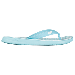 Nike Solay Thong Women's Bleached Aqua/White 82696403