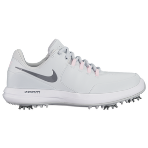 Nike Air Zoom Accurate Golf Shoes - Women's Golf - Pure Platinum/Cool Grey/Arctic Pink 9734002