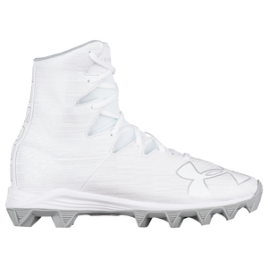 831512ff3 Under Armour Lacrosse Highlight RM JR - Boys  Grade School - Lacrosse -  Shoes - White Metallic Silver