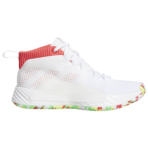 wholesale dealer 511fe bbd8b adidas Dame 5 - Boys Grade School - Basketball - Shoes - Lillard, Damian -  WhiteShock RedCore Black