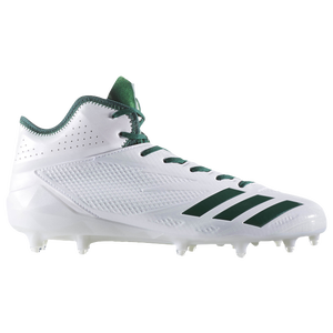 the latest e3e40 24c57 adidas adiZero 5-Star 6.0 Mid - Mens - Football - Shoes - WhiteDark  GreenDark Green