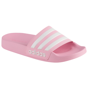 hot sales a0532 b554c adidas Adilette Shower Slide - Girls Grade School - Casual - Shoes - True  PinkWhiteTrue Pink
