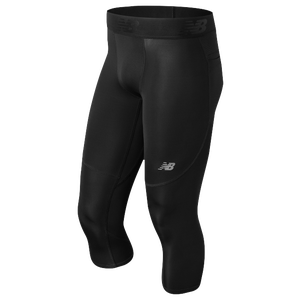 New Balance Aeronamic 3/4 Tights - Men's Training - Black MP73029B