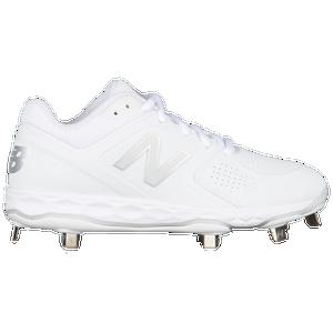 01cd275f3 New Balance Fresh Foam Velov1 Metal Low - Women s - Softball - Shoes -  White White