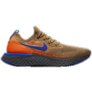 44ce5042de29 Nike Epic React Flyknit - Men s - Running - Shoes - Brown Orange