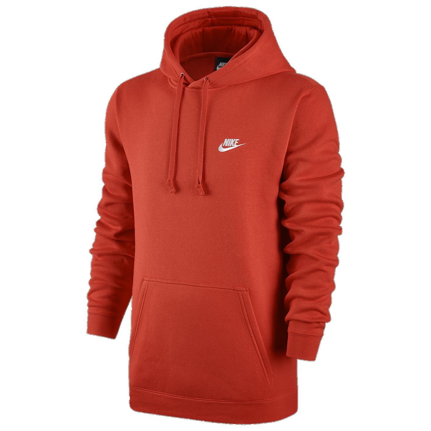 6c8fcf039 Nike Club Fleece Pullover Hoodie - Men's - Casual - Clothing - Team ...