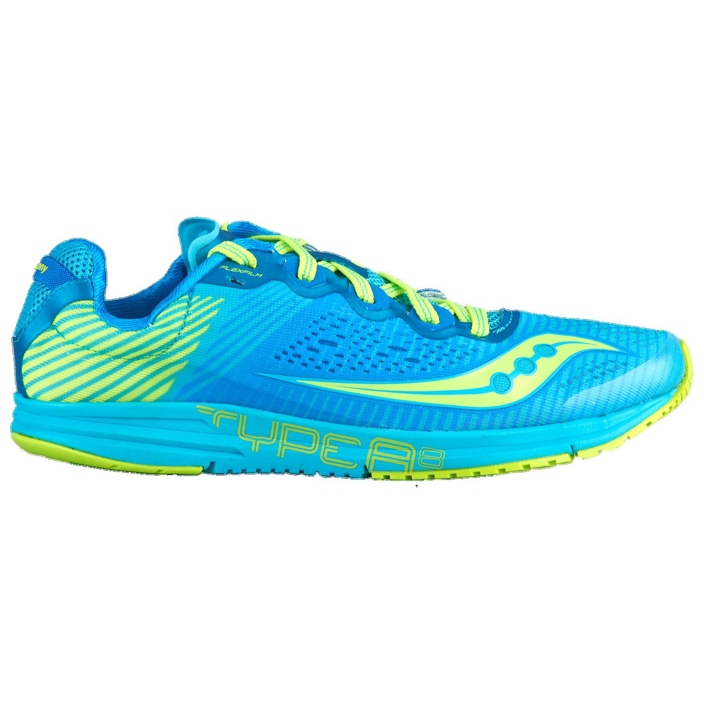 63f27b78 Saucony Type A8 - Women's - Track & Field - Shoes - Blue/Citron