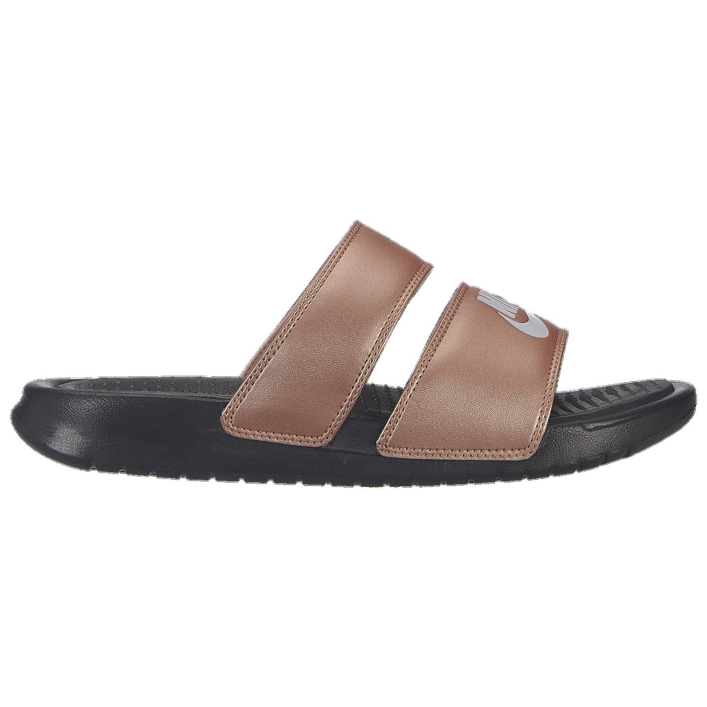 23812c345cdb Nike Benassi Duo Ultra Slide - Women s - Casual - Shoes - Metallic ...