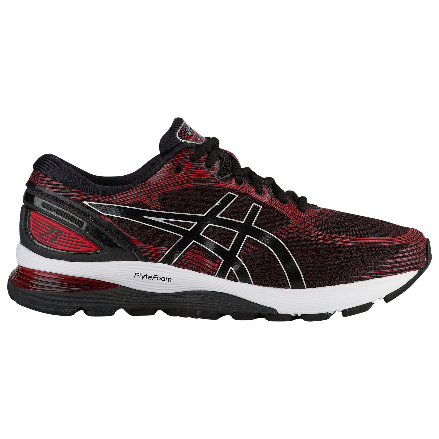 a6f5053dc37 ASICS® GEL-Nimbus 21 - Men s - Running - Shoes - Black Classic Red
