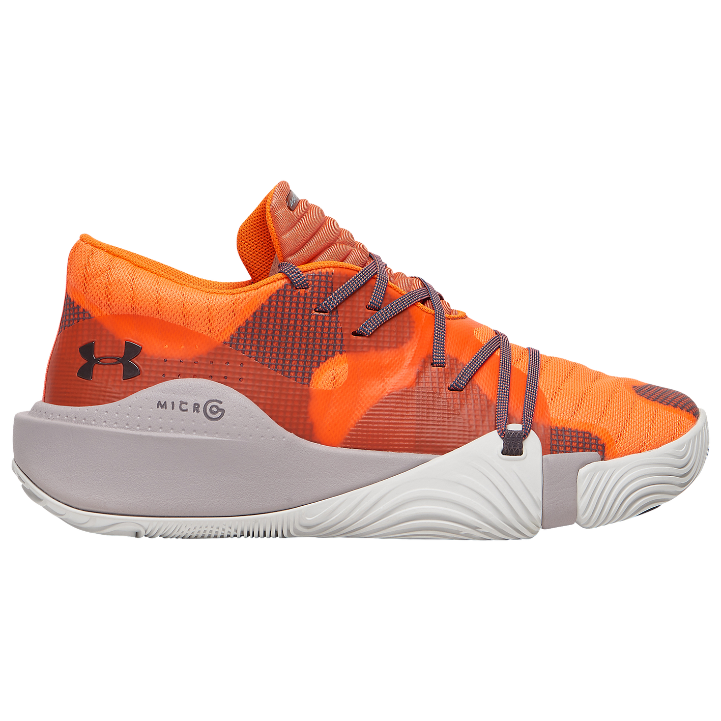 a7a044950 Under Armour Spawn Low - Men's - Basketball - Shoes - Orange Glitch ...
