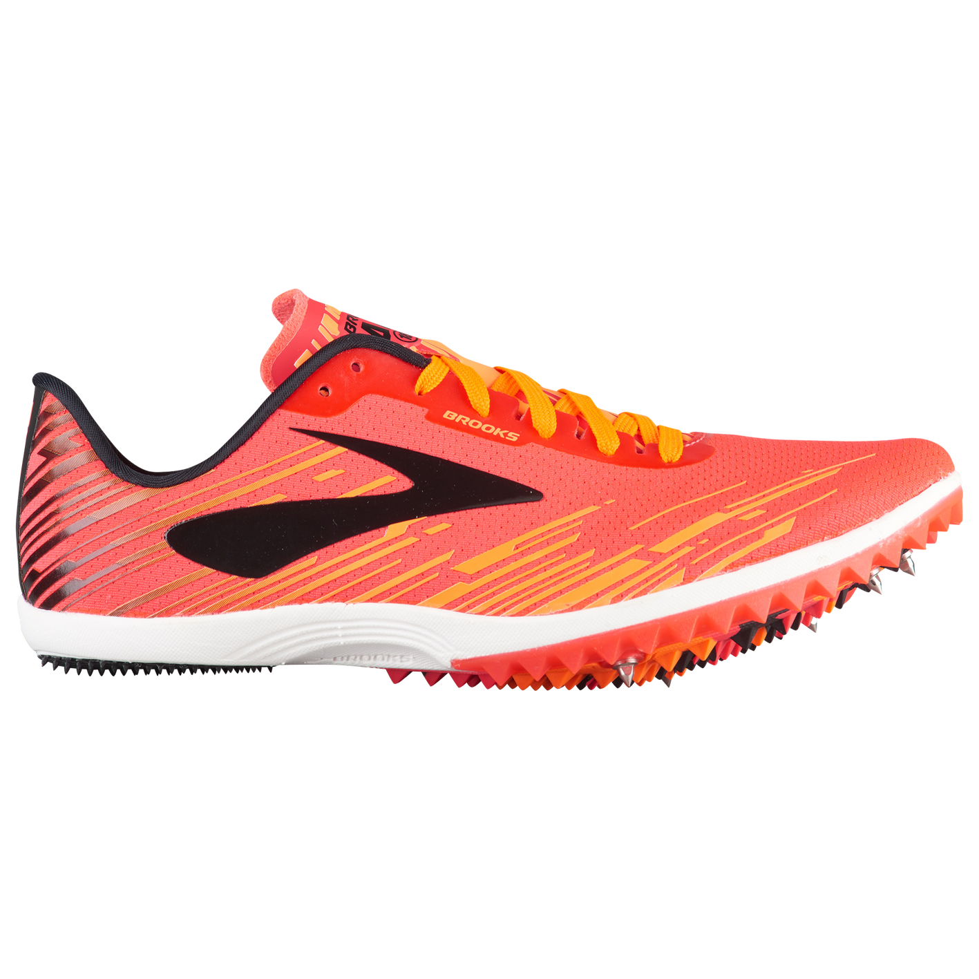 a97ab7c86a966 Brooks Mach 18 Spike - Women s - Track   Field - Shoes - Pink Orange ...