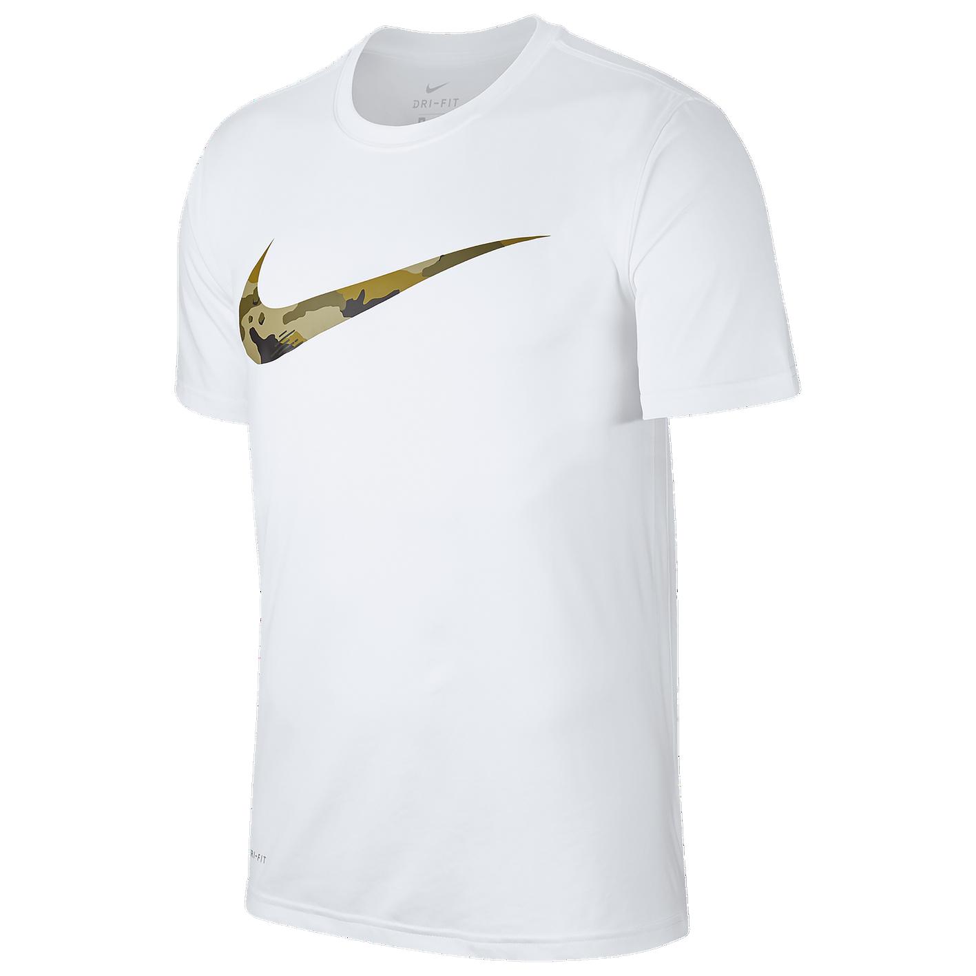 aa160df90 Nike Legend S/S Camo Swoosh T-Shirt - Men's - Training - Clothing ...