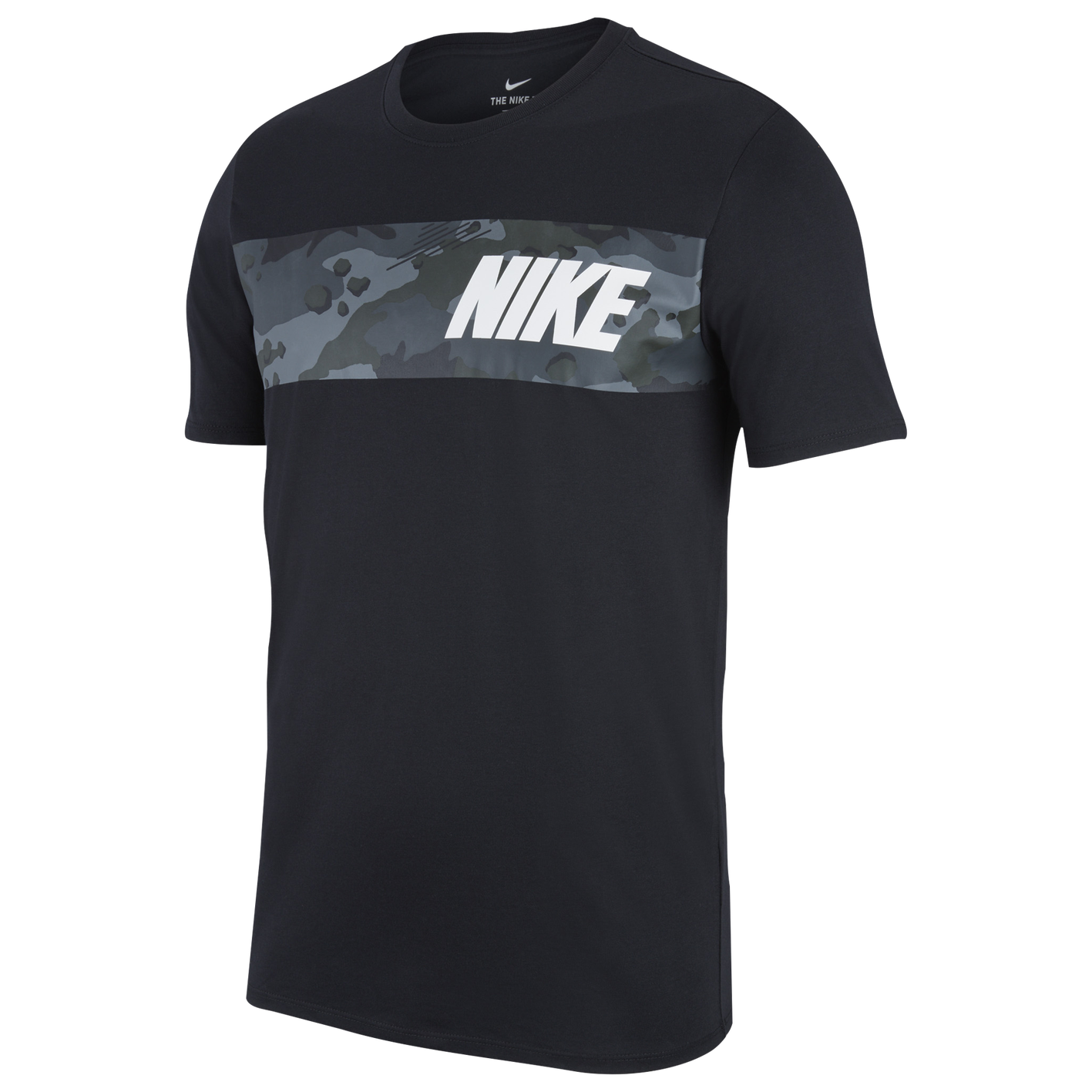 41f935ac Nike Dri-FIT Cotton T-Shirt - Men's - Training - Clothing - Black ...