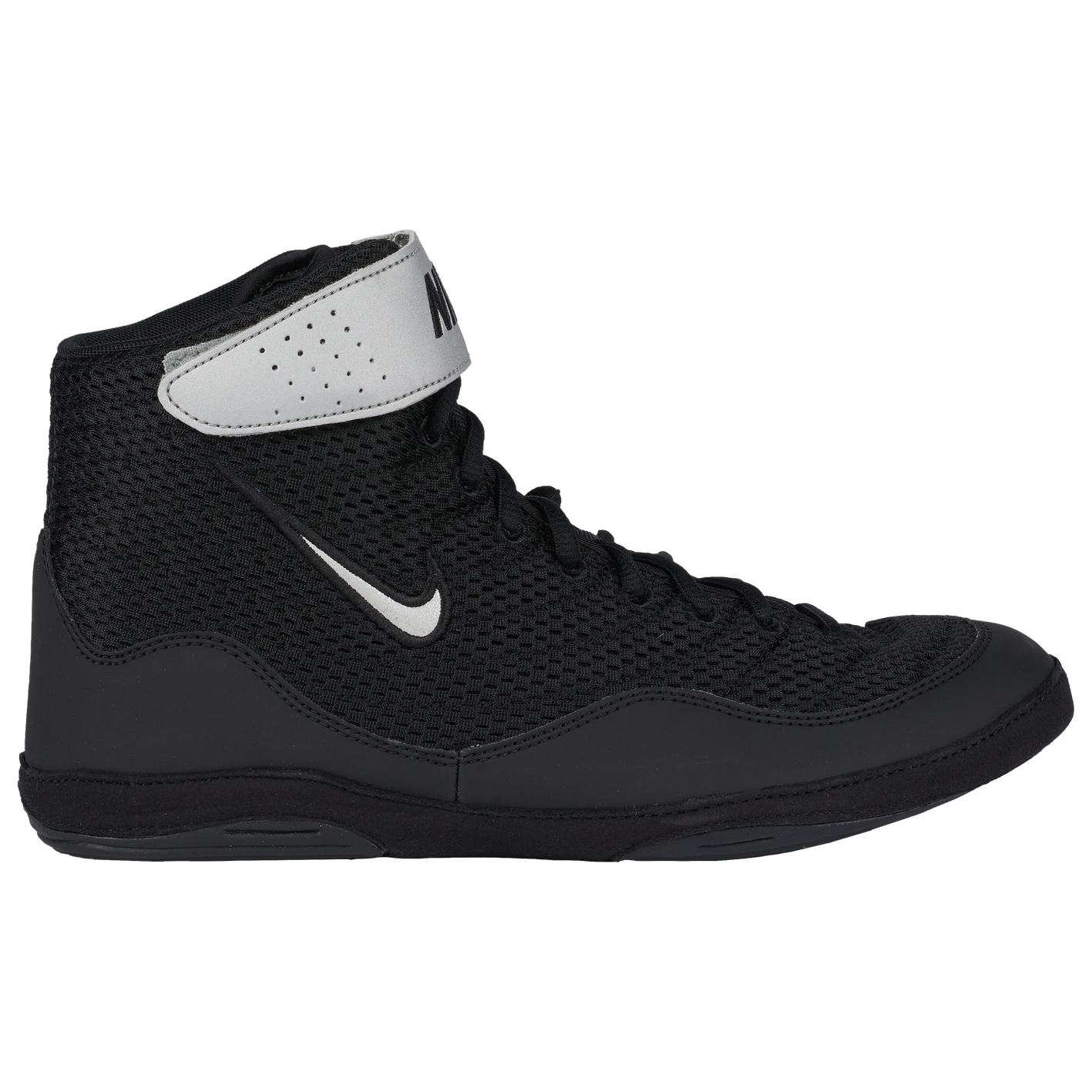 ba6364abbe2 Nike Inflict 3 - Men s - Wrestling - Shoes - Black Metallic Silver White