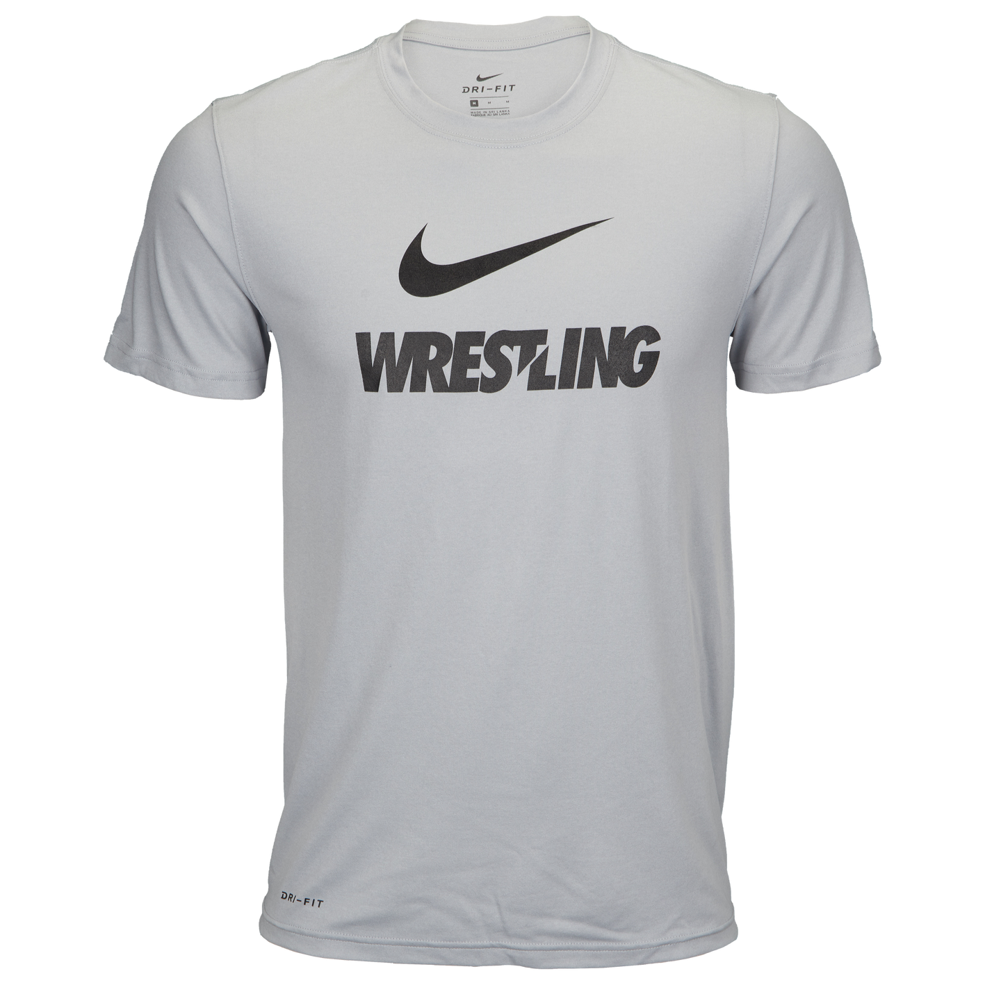 7fd343fd3 Nike Dri-Fit Training T-Shirt - Men's - Wrestling - Clothing - Grey ...