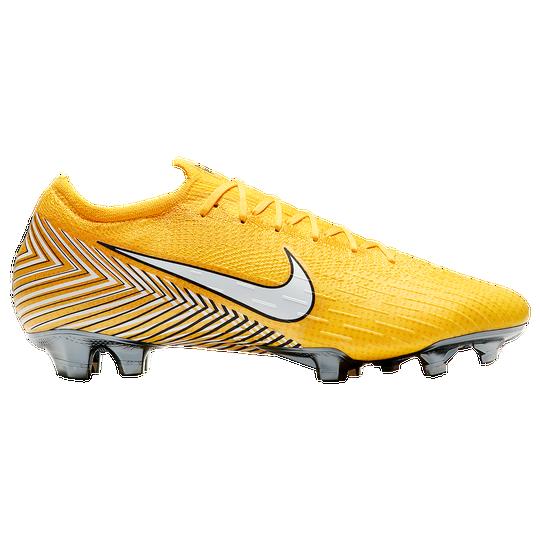 Billiga NIKE Yellow Neymar Mercurial Vapor 12 MG Football