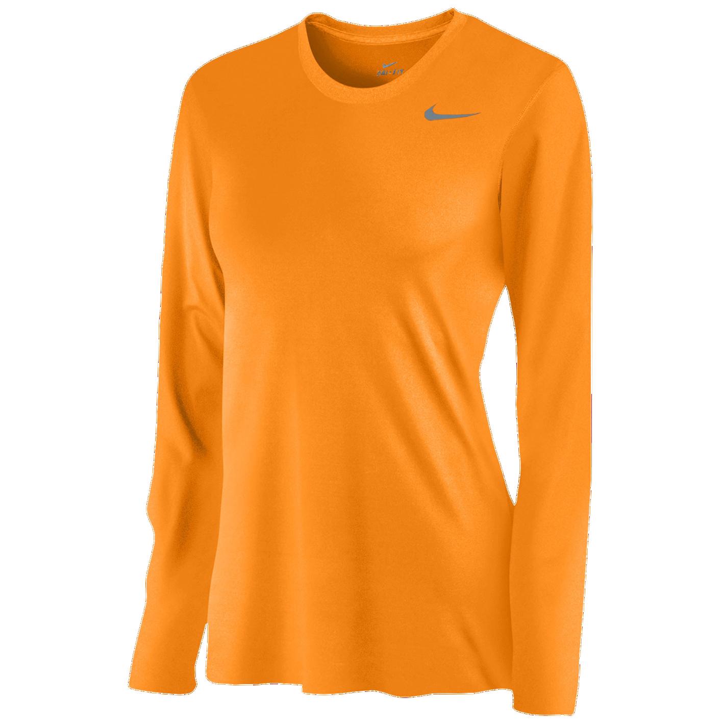 Nike Team Legend Long Sleeve T Shirt Womens Training Clothing