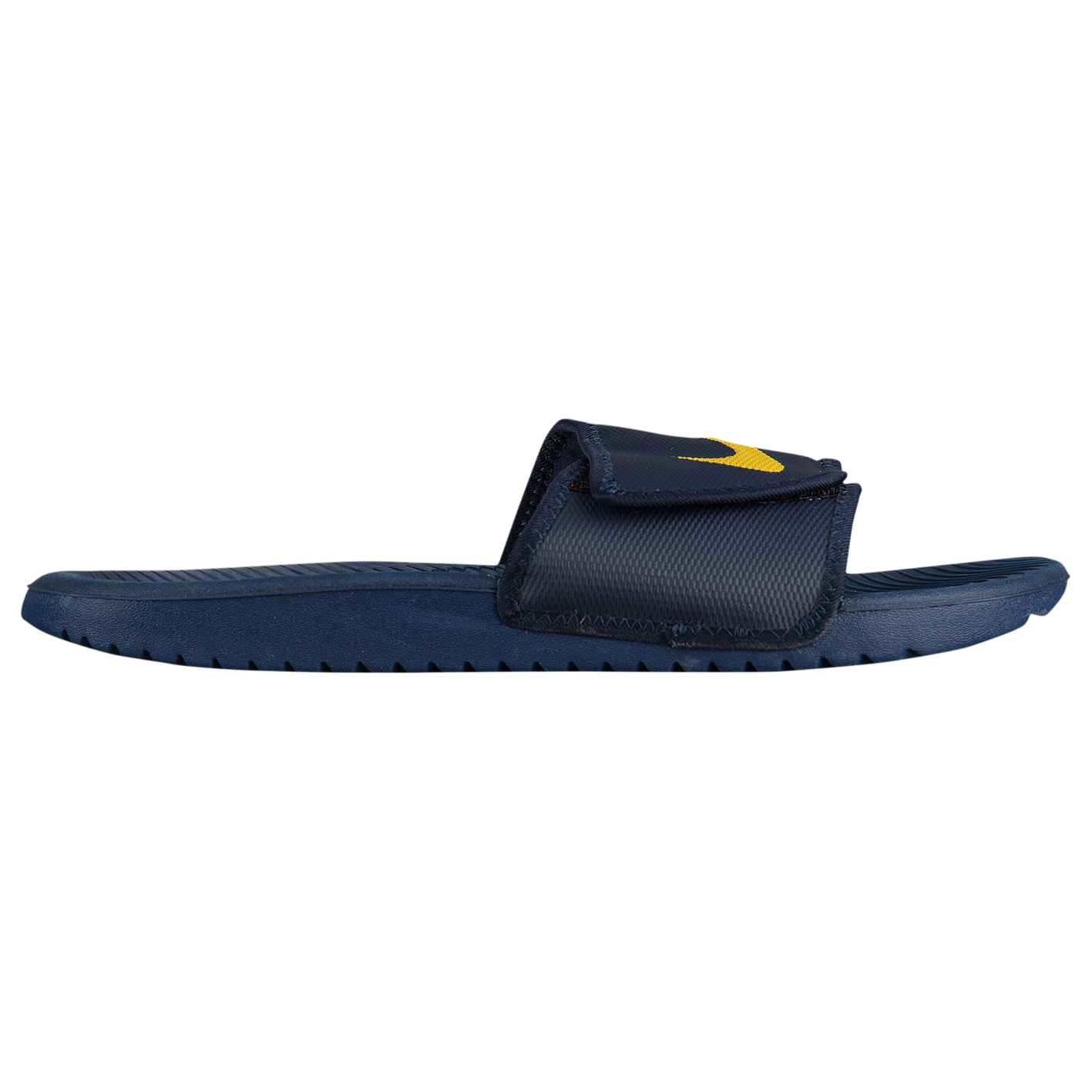 21877d51abf1 Nike Kawa Adjust Slide - Men s - Casual - Shoes - Obsidian Mineral ...