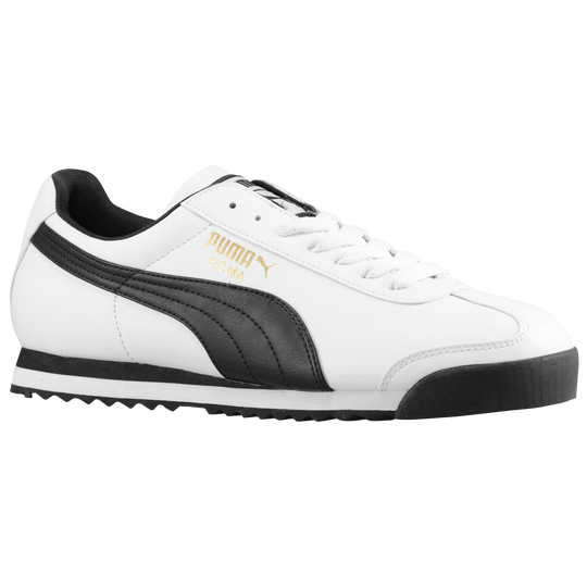 Roma Shoes Puma Basic Casual Whiteblack Men's jULzpGVqSM