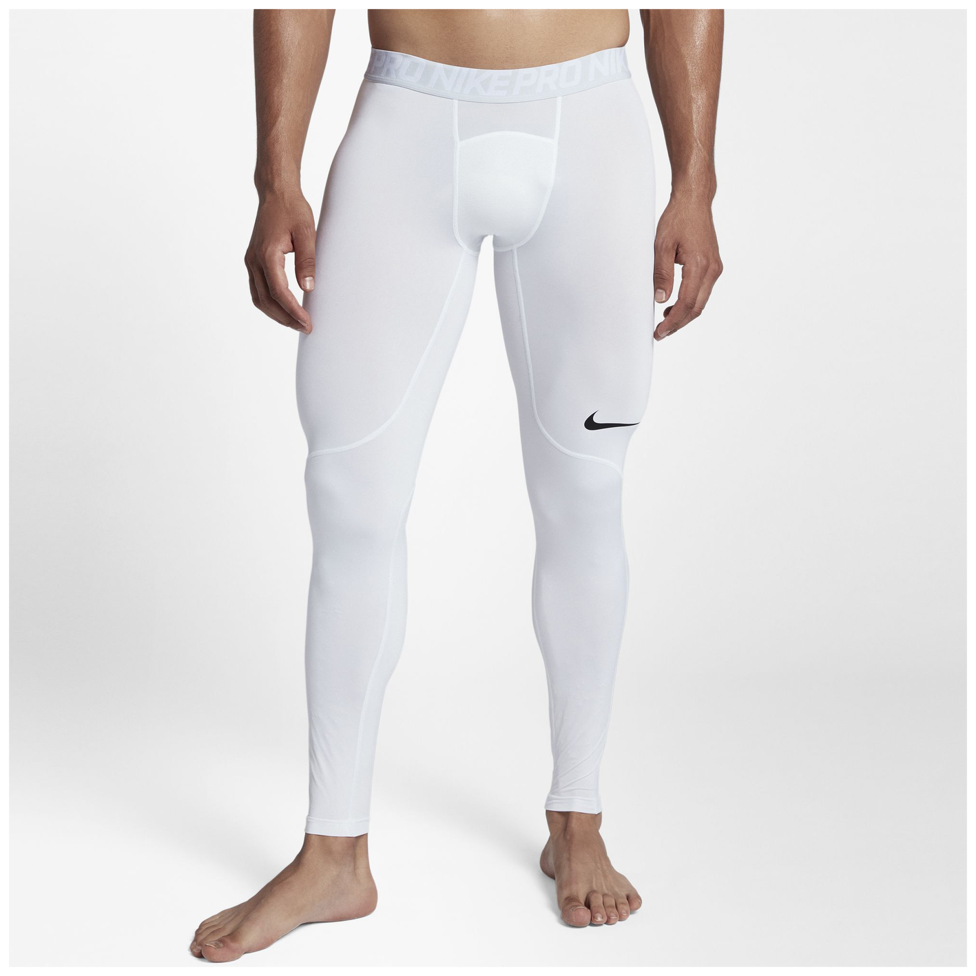 573feb116a4233 Nike Pro Compression Tights - Men s - Training - Clothing - White ...