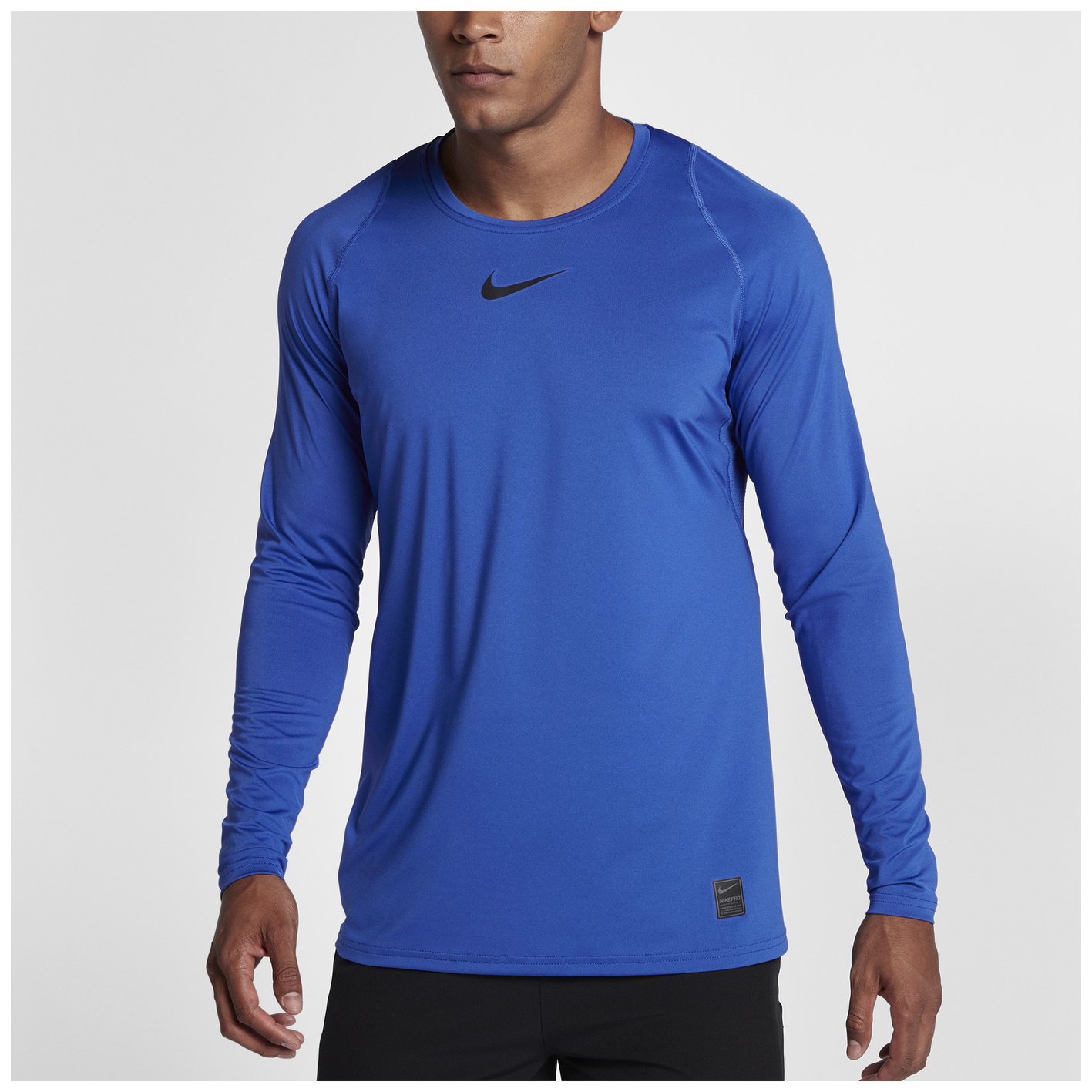b469b738 Nike Pro Fitted Long Sleeve Top - Men's - Training - Clothing - Game ...
