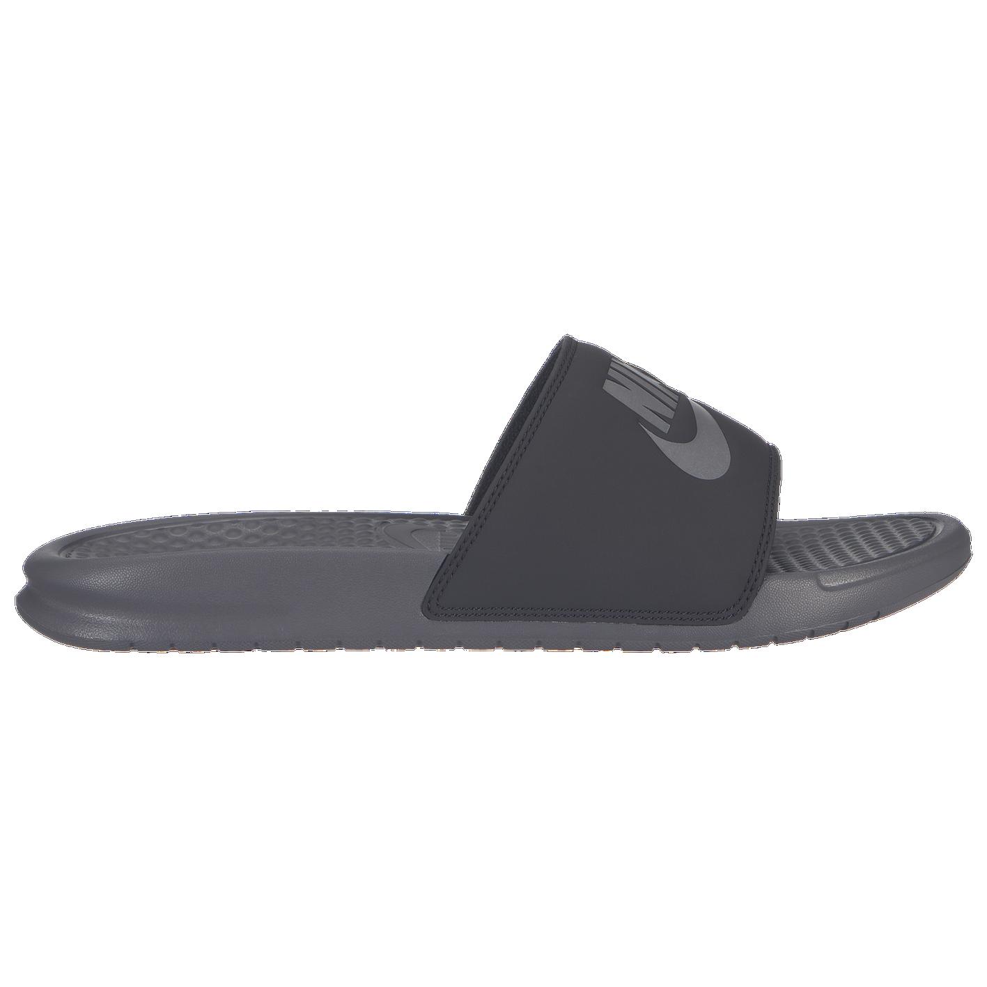 2d6419ebef48 Nike Benassi JDI Slide - Men s - Casual - Shoes - Gunsmoke Gunsmoke Oil Grey